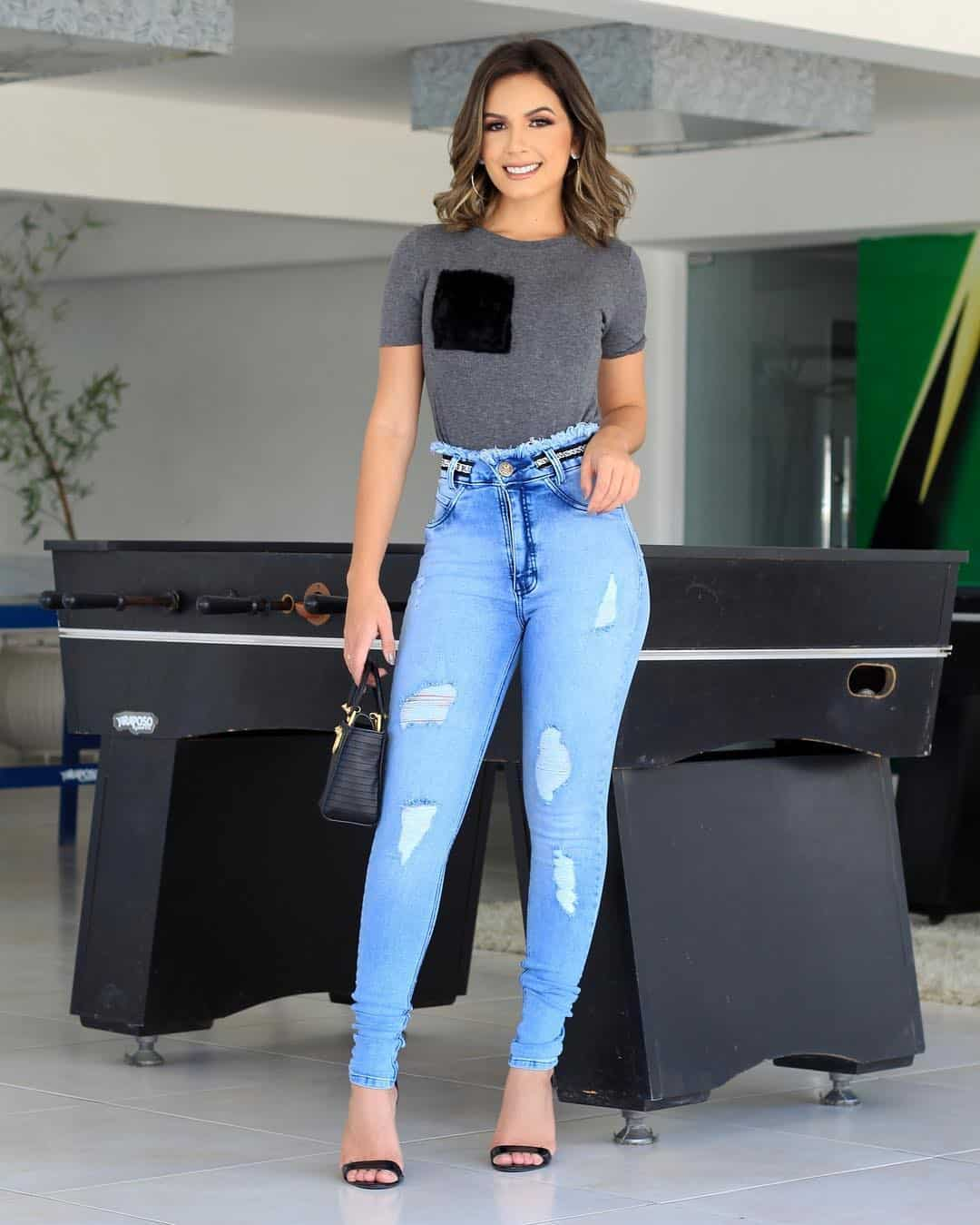 Womens Jeans 2021: Top Trendy Styles and Ideas of Jeans for Women 2021