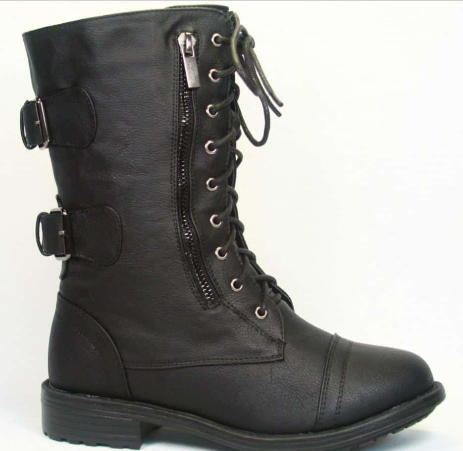 Military women's winter shoes 2020