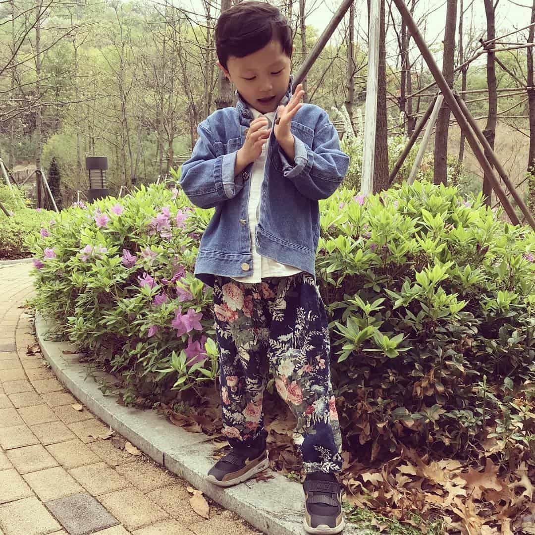 Denim clothes in kids fashion 2022