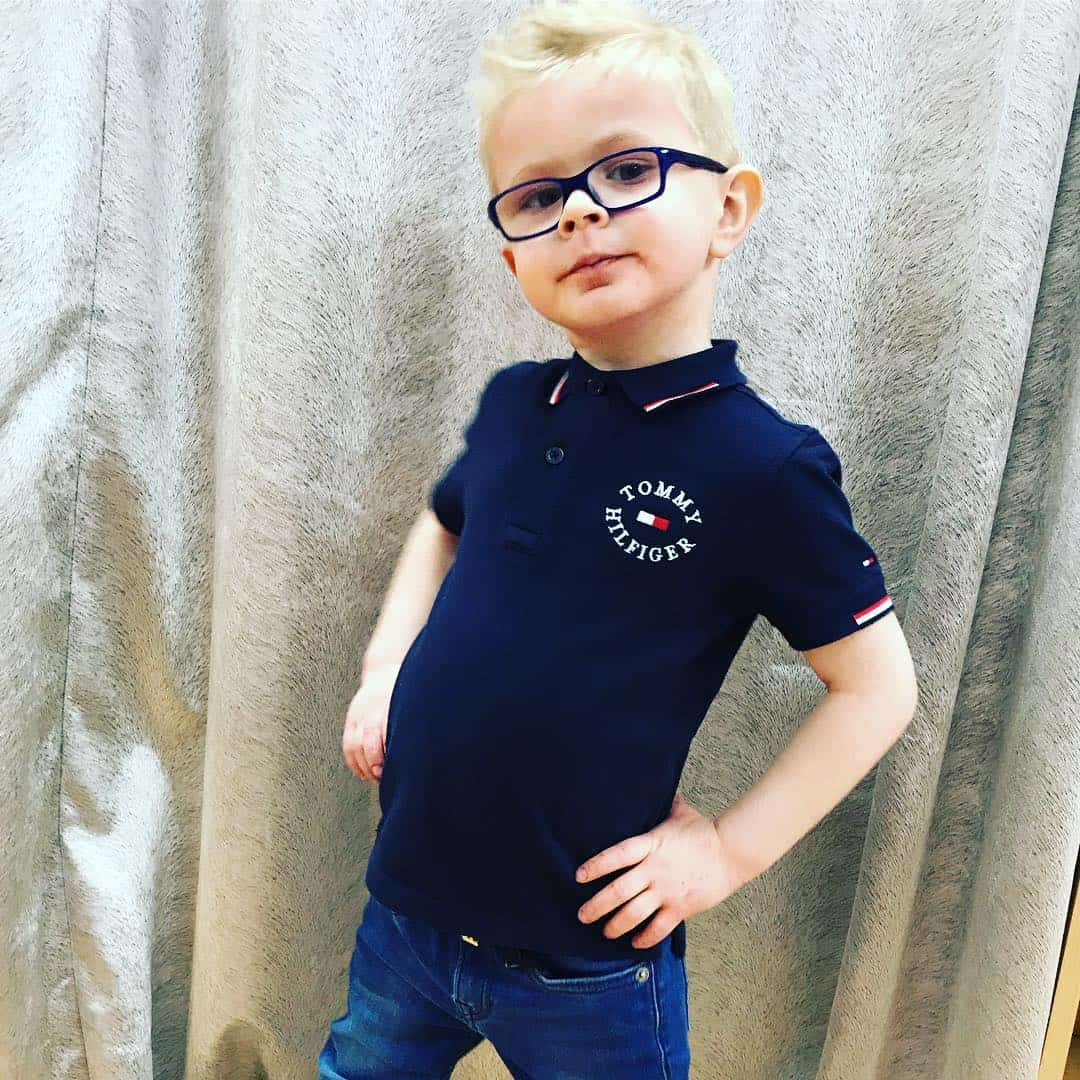 Boy shirt new style 2022 with logos