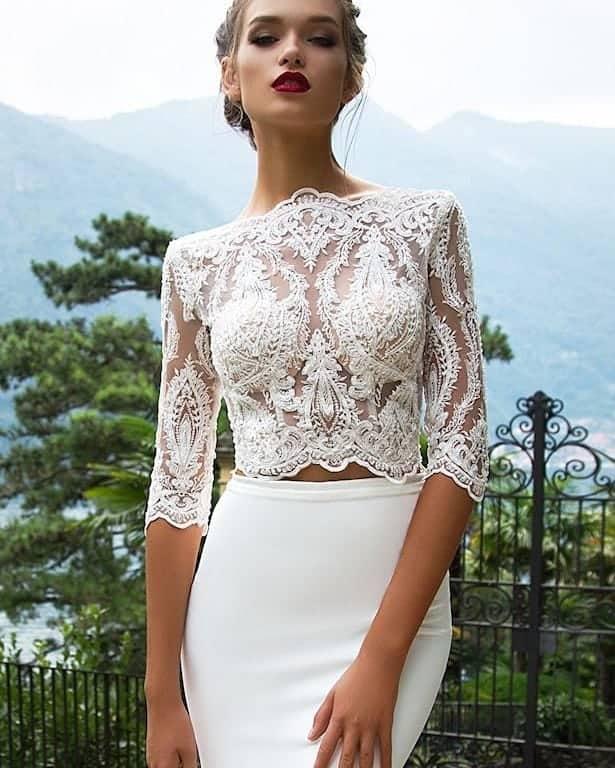 Os 12 melhores vestidos de noiva 2020: Vestidos de noiva elegantes e requintados