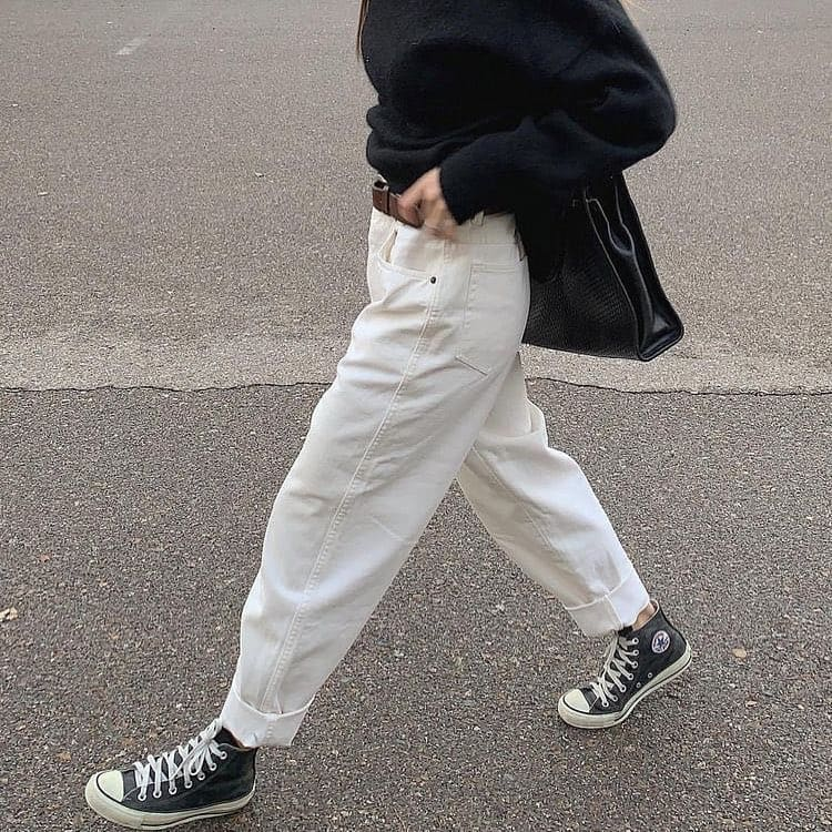 Boyfriend jeans clothes for teenage girl 2020