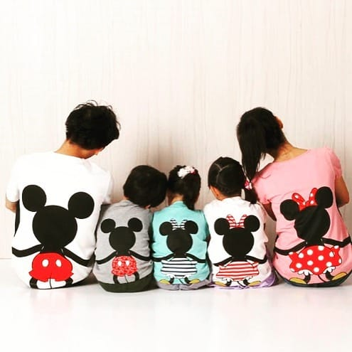 Family fashion in kids clothes 2022