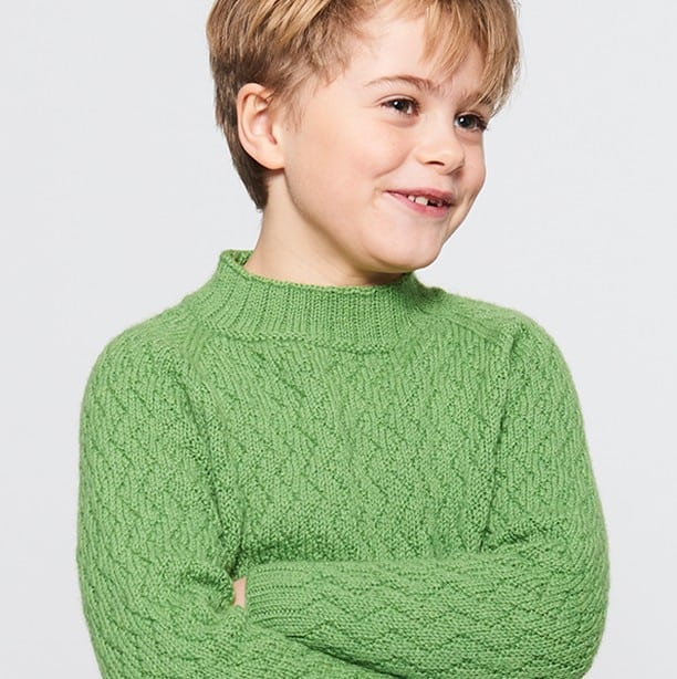 Knitwear in kids clothes 2022