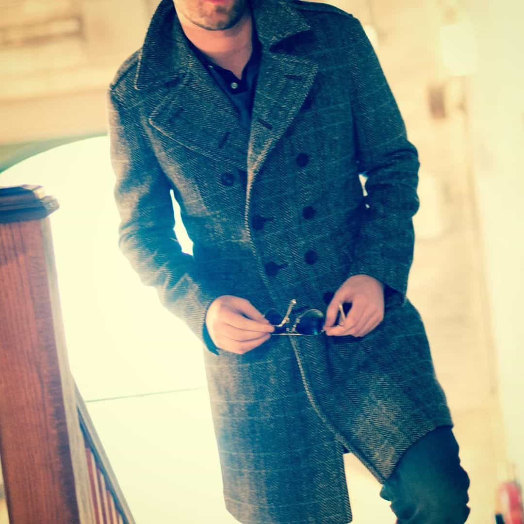 Classical style coats for men 2020