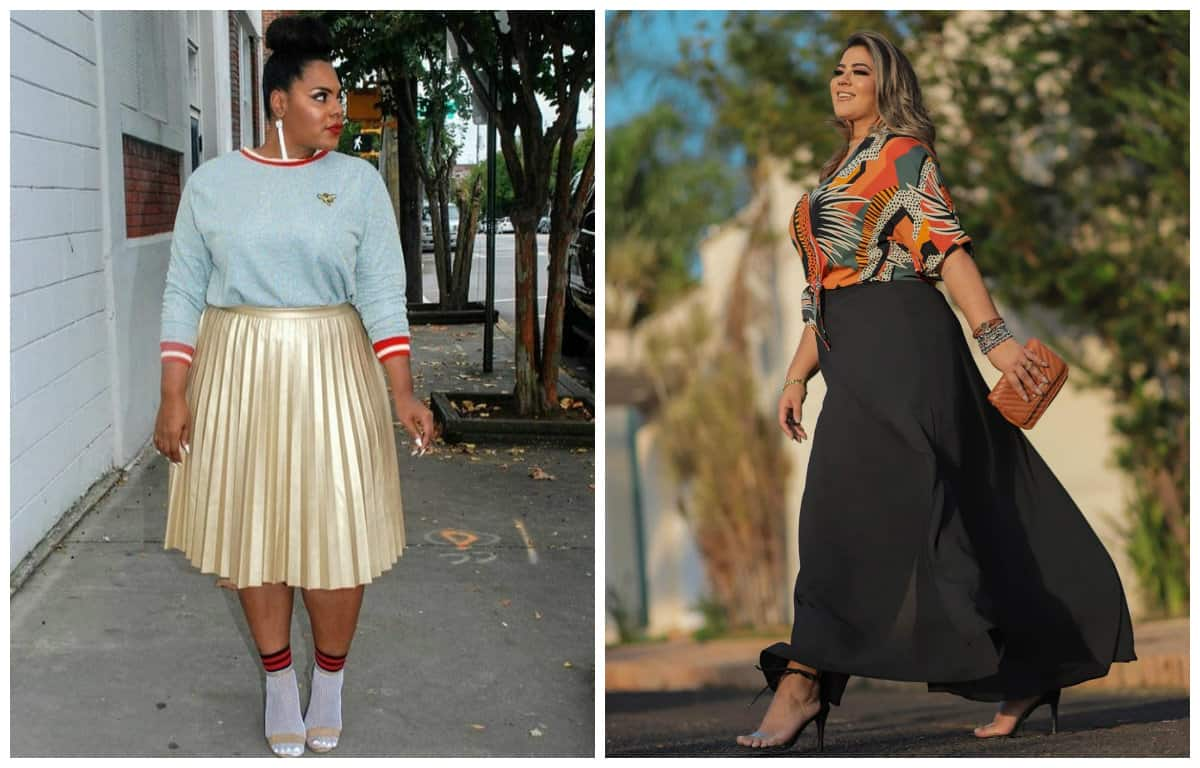 Top 9 Plus size Fashion 2020 Trends: Elegant Plus Size Dresses 2020 (45 Photos) 8