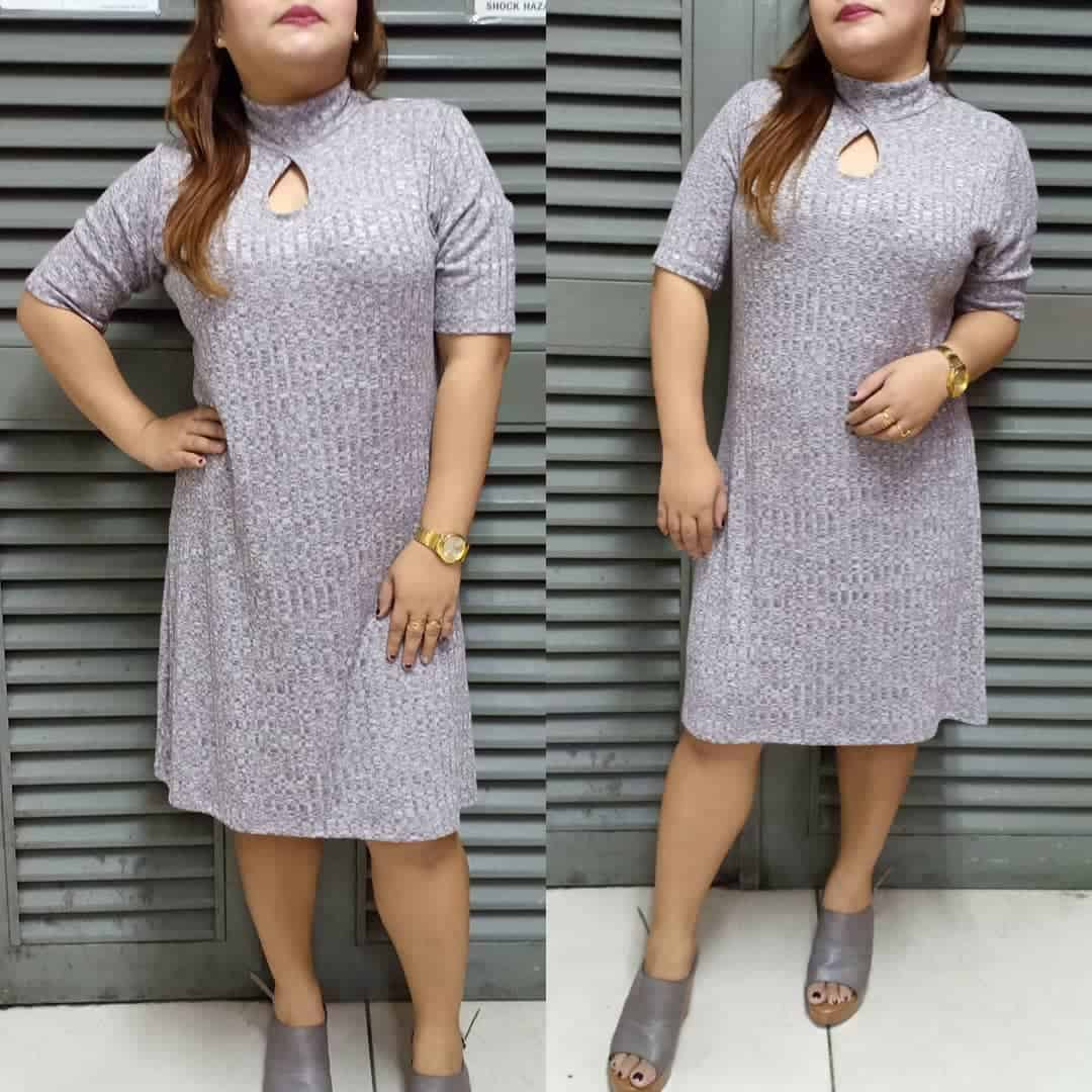 Knitted plus size clothing 2020