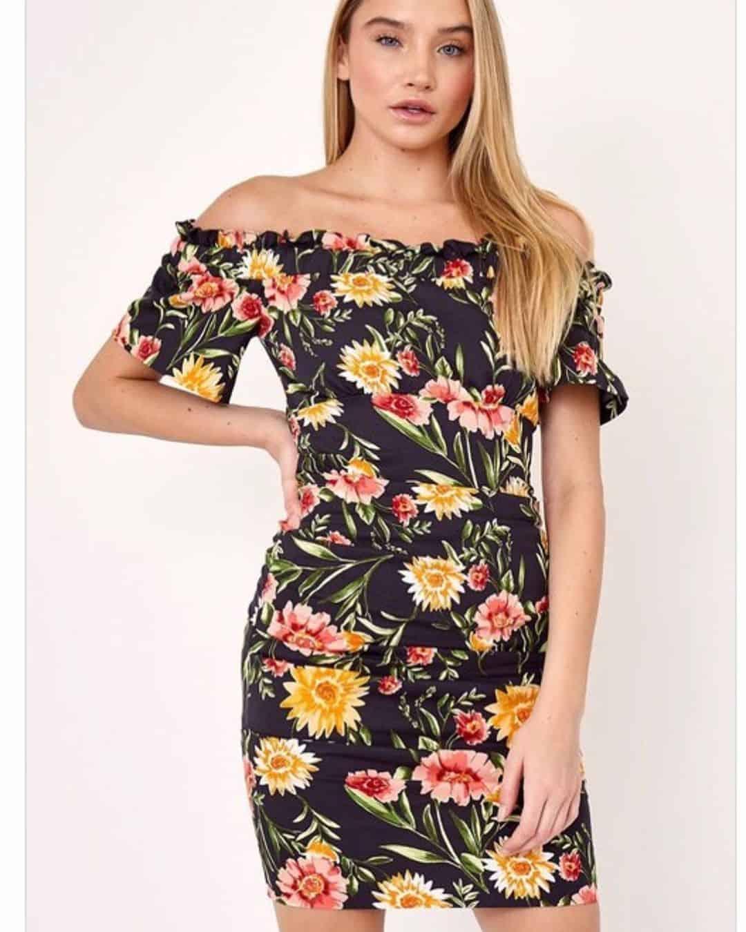 Floral prints on beach dresses 2020