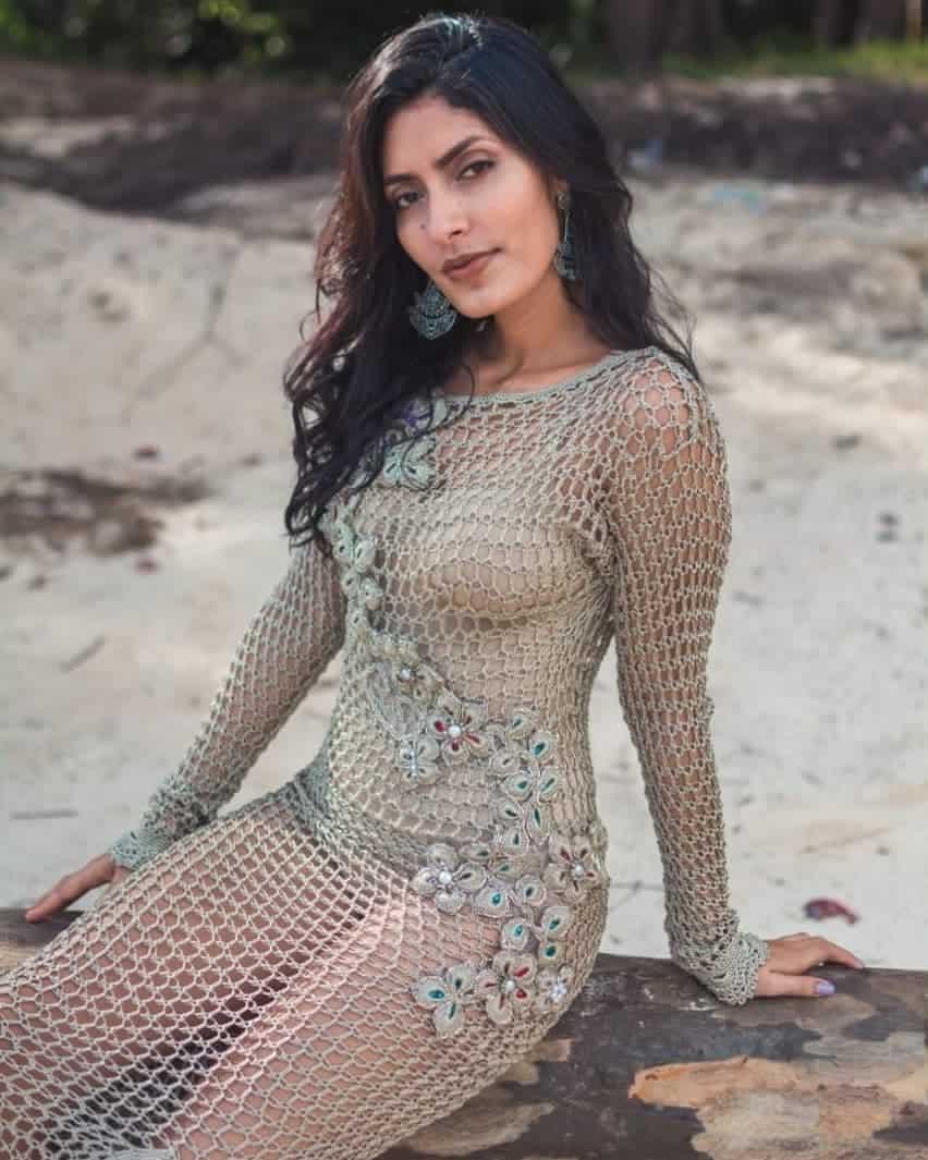 Spring dresses 2020: Crochet models