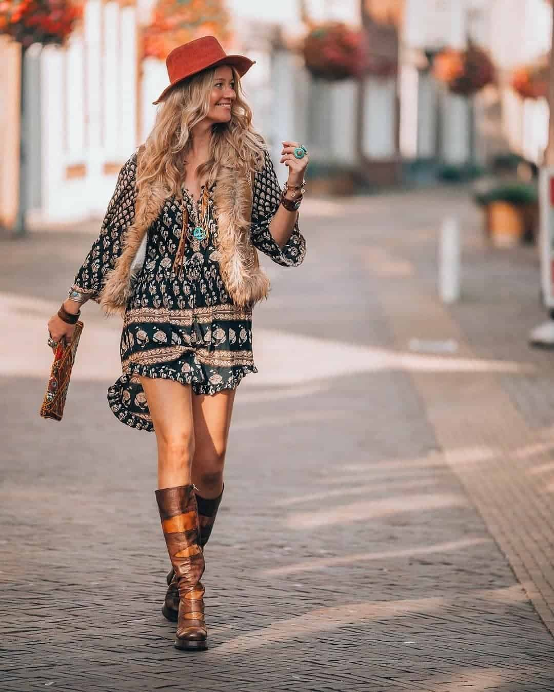 The latest fashion trends 2020 of bohemian styles