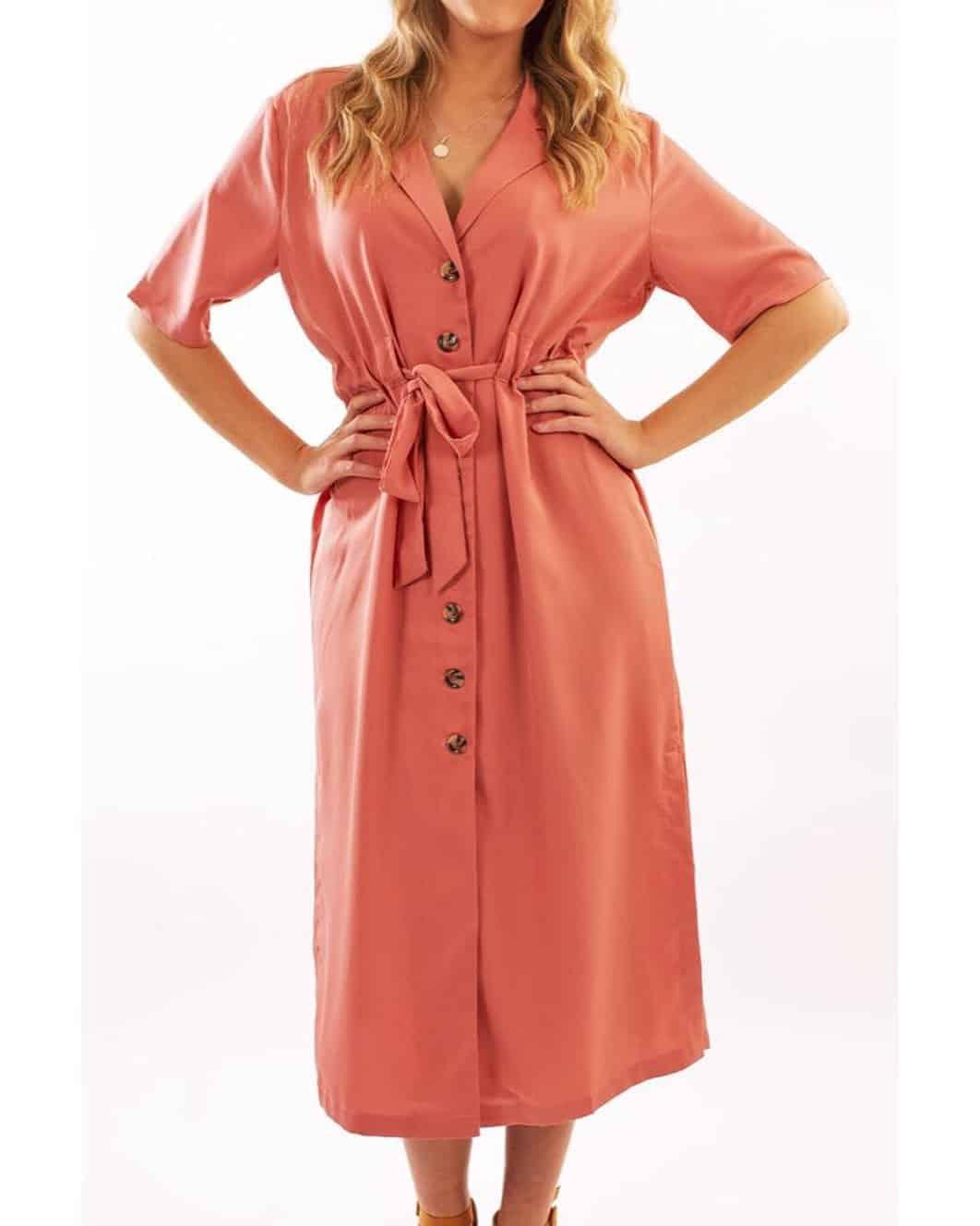 Fall dresses 2020: Button dress