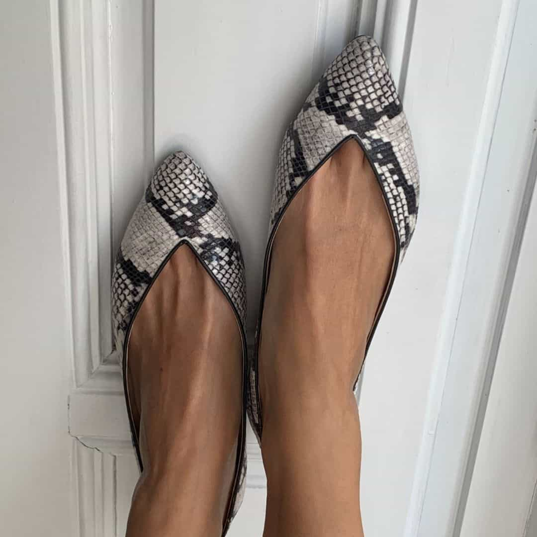 Women shoes 2020 with animal print